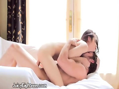 Luscious Teen Sensuous Doggystyle Fuck