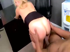Horny MILF fucked with big black dick