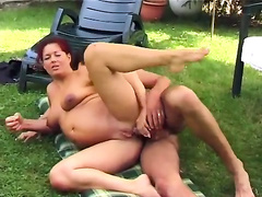 Guy fucking his preggo wife