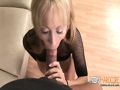 Skinny blonde Jerilyn big tits blow job fucking and cum shot fac