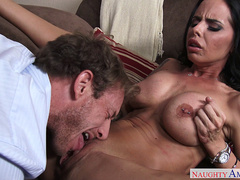 Brandy Aniston gets her pussy eaten by Ryan McLane
