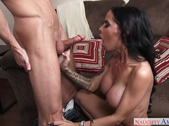 Brandy Aniston is happy with a hard small cock