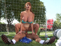Taylor Wayne fucking the soccer coach in Soccer Moms - Wicked Pictures