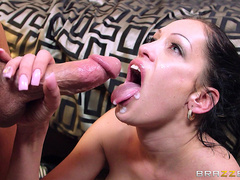 Kelly Summer takes tasty cumshot from Jesse Jones