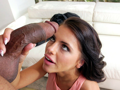 Adriana Chechik Battles A Monster Cock