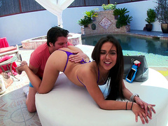 Jynx Maze gets her ass eaten out on a beautiful afternoon