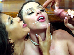 Veronica Rodriguez and Ariella Ferrera finally settle their differences