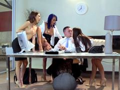 Brazzers HD: Office 4-Play: Intern Edition