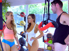 Brazzers HD: Gym And Juice with Abigail Mac and Nicole Aniston