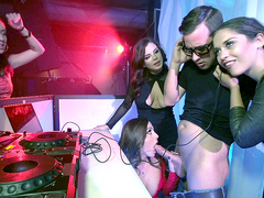 The Joys of DJing - Brazzers HD - Keisha Grey and Abigail Mac