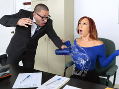 My nerdy assistant - Dani Jensen - Reality Kings HD