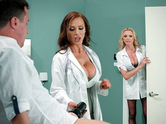Dick Stuck In Fleshlight - Nikki Benz, Brianna Banks - Brazzers HD