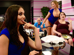Getting Their Own Facials featuring Ariana Marie and Britney Amber