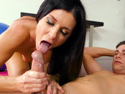 India Summer handjob and cumshot