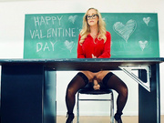Brandi Love is Desperate For V-Day Dick