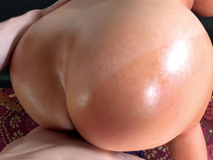 Big ass milf Sybil Stallone bent over and fucked doggy style