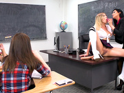 Punishable Behavior Featuring Giselle Palmer and Romi Rain - Brazzers HD