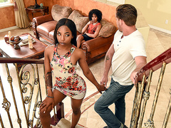 Like Mother, Like Daughter with Misty Stone and Sarah Banks - Brazzers HD