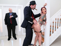 The Don Whacks My Wife's Ass Starring Monique Alexander - Brazzers HD