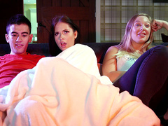 Sister Doesn't Mind Sharing with Rebecca Volpetti - Brazzers HD