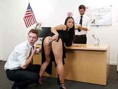 Strip Search Featuring Kristall Rush - Reality Kings HD