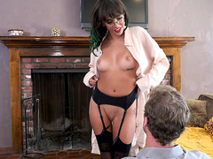 Unlocking That Pussy Starring Janice Griffith - Bangbros 4K