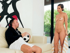 Teen Alina Lopez wants Keiran's big hard on