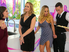 My Stepmom's Social Club with Julia Ann and Olivia Austin