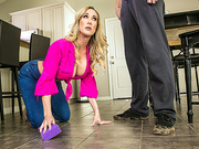 Cleaning Up His Mess Featuring Brandi Love and Justin Hunt