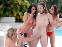 Getting Milf Handled with Diamond Foxxx, Cory Chase, and Reagan Foxx