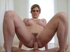Busty stepmom Cory Chase cowgirl riding Xander's big dick