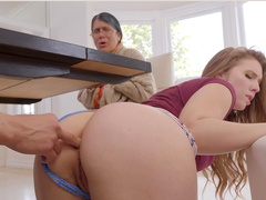 Buttsex Next To Bubby Starring Lena Paul