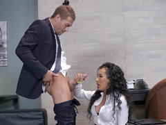 Brazzers HD: Pornstar PR: Crisis Management with Amia Miley and Xander Corvus