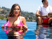 Brazzers HD: Learning Breaststroke Starring Karmen Karma