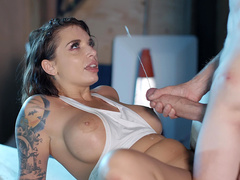 Ivy Lebelle gets blasted with patented Danny D cumshots