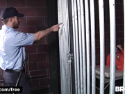 Rocko South with Sebastian Young at Barebacked In Prison Part 3 Scene 1