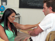 Reagan Foxx and Lucas Frost in My First Sex Teacher - Naughty America
