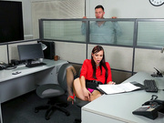 Aidra Fox and Seth Gamble in Naughty Office - Naughty America HD