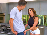 Hot mom Alexis Fawx wants some young hard cock today