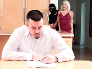 Robber Banged My Girlfriend with Rhonda Rhound - Reality Kings HD