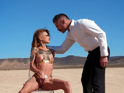 Sandy Siren Of The Skies Starring Kimber Veils - Brazzers HD