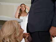 Nina's Chapel of Lust Part 2 Featuring Jillian Janson and Nina Hartley - Brazzers HD