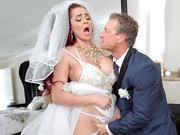 The Cum Spattered Bride Starring Skyla Novea - Reality Kings HD