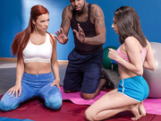 Pilates for Hotties with Darcie Dolce and Jayden Cole - Brazzers HD