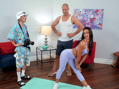 Bend Me Over Starring Katana Kombat - Brazzers HD