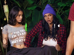Campfire Chaperone Featuring Missy Martinez and Liv Wild - Moms Lick Teens HD