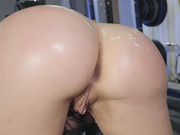 Brooke Beretta gets her big ass covered with fresh cum