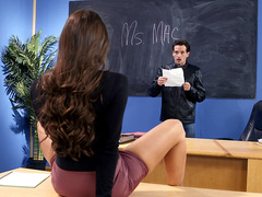 A Dose of Dirty Discipline with Abigail Mac - Big Tits At School HD