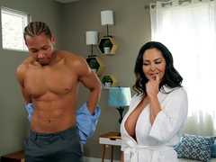 Ava Addams Featuring in: Seduced By His Stepmom - Mommy Got Boobs HD