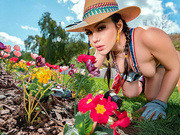 Gardening Hoe Starring Valentina Nappi - Monster Curves HD
